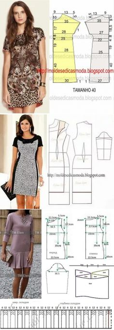 Amazing Sewing Patterns Clone Your Clothes Ideas. Enchanting Sewing Patterns Clone Your Clothes Ideas. Sewing Dress, Dress Sewing Patterns, Diy Dress, Sewing Patterns Free, Sewing Clothes, Clothing Patterns, Diy Clothes, Sewing Coat, Fashion Sewing