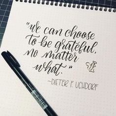 There is always something to be grateful for! Brush Lettering Quotes, Fonts Quotes, Hand Lettering Styles, Creative Lettering, Print Handwriting, Calligraphy Handwriting, Calligraphy Letters, How To Write Calligraphy, Calligraphy Quotes