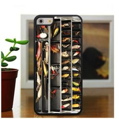 Fishing Tackle Box Fishing iPhone Case