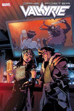 'Valkyrie: Jane Foster' Marks a New Arc with Artist Mattia De Iulis Serie Marvel, Hq Marvel, Marvel Comics Art, Marvel Comic Universe, Comics Universe, Comic Book Artists, Comic Artist, Comic Books Art, Thor Valkyrie
