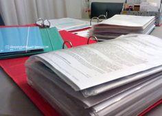 Quanto tempo conservare i documenti