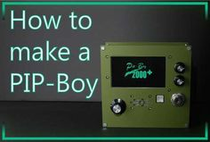 DIY Fallout PIP-Boy I mean how much better does it get?