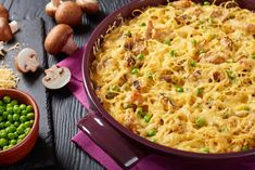Instant Pot Turkey Tetrazzini is a great way to use up your leftover turkey. A creamy and delicious casserole that will please a crowd. Top Recipes, Crockpot Recipes, Chicken Recipes, Recipies, Delicious Recipes, Pasta Recipes, Cooking Recipes, Yummy Food, Turkey Casserole