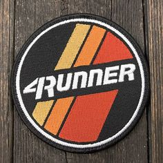 Toyota 4Runner Retro Strips Patch