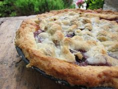 Mulberry Pie: Just in case you have more mulberries than you know what to do with, here's a pie recipe.