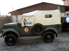 Automobile Romanesti - Aro - IMS The had a stronger engine hp) and numerous other improvements over the Jeep 4x4, Car Brands, Automobile, Monster Trucks, Vehicles, Cold War, Romania, Russia, Classic