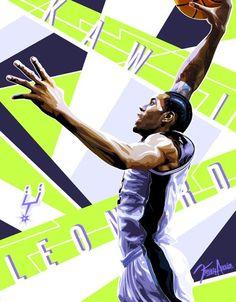 Kawhi Leonard 'NBA Finals MVP' Illustration