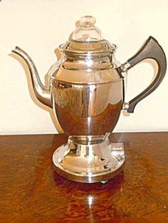 Montgomery Wards Coffee Percolator Stainless Steel