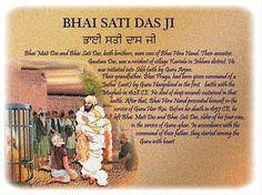 Bhai Sati Daas Ji