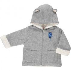Baby boys' coat Gris