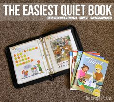 The Craft Patch: The Easiest Quiet Book (Especially for Mormons)