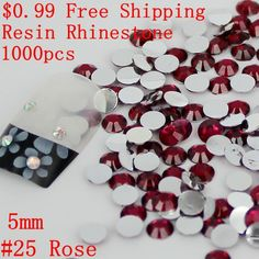 Non Hotfix Resin Rhinestones $0.99 5mm 1000pcs Many Colors Flatback Round Glue On Beads For Crafts Wedding Dress Decorations #>=#>=#>=#>=#> Click on the pin to check out discount price, color, size, shipping, etc. Save and like it!