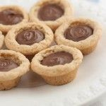 Nutella Cookie Cups