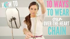 10 Ways to Wear the Origami Owl Over-the-Heart Chain  julieprintess.origamiowl.ca
