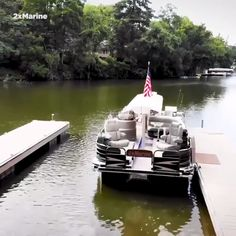 "Jon Steinberg on LinkedIn: ""This pontoon boat expands from feet to 17 feet. Pontoon Boat With Slide, Pontoon Boat Seats, Fishing Pontoon Boats, Pontoon Houseboat, Electric Pontoon Boat, Pontoon Boat Party, Fishing Boat Seats, Luxury Pontoon Boats, Pontoon Boats For Sale"