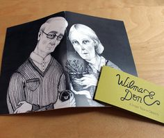 WILMA & DON artist book by HeyPiccolo on Etsy