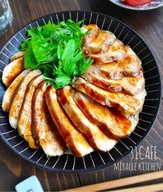 ♡レンジで6分♡むね肉de超簡単鶏チャーシュー♡【#時短#節約#作りおき#鶏むね肉】 : Mizuki