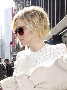 Jennifer Lawrence gère la repousse