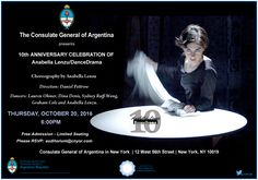 Next Thursday at the Argentinean Consulate in NYC!