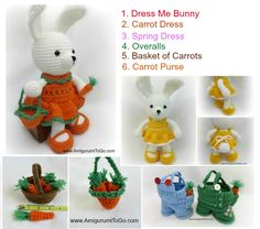 Easter is fast approaching! Today I will share some of my own  patterns with you, each is free and most of the written patterns come  wi...