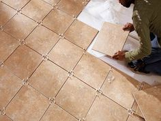 How To Tile A Bathroom Floor Installation ~ http://lanewstalk.com/how-to-tile-a-bathroom-floor-with-relative-ease/