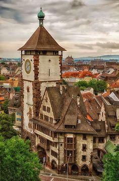 In pretty Freiburg, Germany.