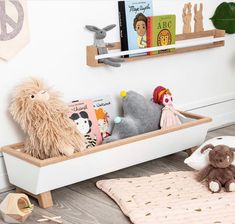 Autumns Corner: Beautiful things for little ones spaces Handmade Nursery Decor & Furniture, Made With Love Little People, Little Ones, Modern Nursery Decor, Birch Ply, Dream Book, Modern House Design, New Toys, Solid Oak, Storage Solutions