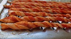 Curl Your Bacon Before Baking for Crispy Bacon Tubes... Hell Ya