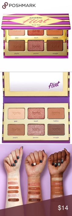 TARTE 'Flirt' Tartelette™ Eyeshadow Palette TARTE 'Flirt' Tartelette™ Eyeshadow Palette has been said many times to be a mini version of IN BLOOM.  Though TARTE has yet to claim yes or no on that. Again one of my favorite things about tarte is the many many many varieties and selections of pallets!   Pallets for eyeshadows, contouring, highlighting etc. that aren't $40-$80 is nice change and a lot of times it's all you really need! tarte Makeup Eyeshadow