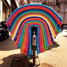 The towels bike - India