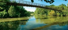 Swinging Bridges and Shallows:  Hwy 42-18