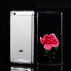 Xiaomi Redmi 3 Case Ultra Thin TPU Silicone Material Flip Back Cover Coque Redmi 3 Capa Compact Protection Phone Bag Cases