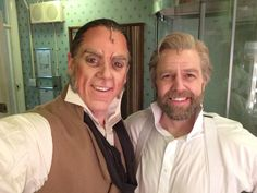 Jeremy Secombe and Simon Gleeson two Aussie staring in Les Miserables West End London in 2016