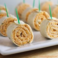 Buffalo Chicken Tortilla Pinwheels-37