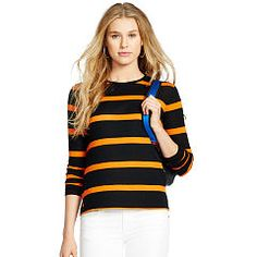 Striped Cotton Jersey Tee - Polo Ralph Lauren Long-Sleeve - RalphLauren.com