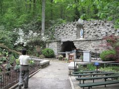 National Grotto Shrine of Our Lady of Lourdes - Emmitsburg, Maryland