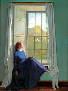 The window seat by Sir William Orpen