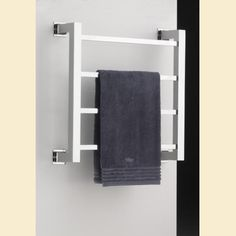 Heated Towel Rail Metro Wall Mounted with Square section tubing  http://www.priorsrec.co.uk/product/Heated-Towel-Rail-Metro-Wall-Mounted/bathroom-accessories_by-product-type_heated-towel-rails/index.html#