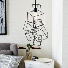Framed Sculpture Pendant