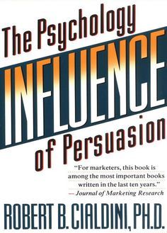 Influence: The Psychology of Persuasion by Robert B. Cialdini ebook epub/pdf/prc/mobi/azw3 download free for Kindle, Mobile, Tablet, Laptop, PC, e-Reader. #kindlebook #ebook #freebook #books #bestseller