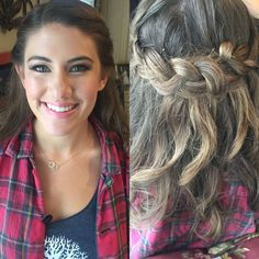 Bridesmaid hairstyling and make up by Melissa . 619-944-0740