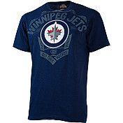 Go, Jets, Go! Jets Hockey, Roots, Mens Tops