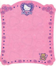 Hello Ktty- Sanrio - letter paper