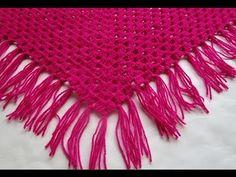 Crochet Coprispalla Uncinetto tutorial pink - YouTube
