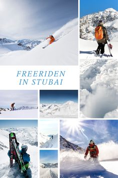 Freeriden in Stubai – Snowboarden abseits der Pisten. Wer Snowboarden oder Skifahren liebt und sich traut und gut vorbereitet ist, für den wird das Fahren auf ungesicherten Pisten ein neuer Adrenalinkick sein. Hier kommt unser Guide zum Freeriden in Stubaier Gletscher.