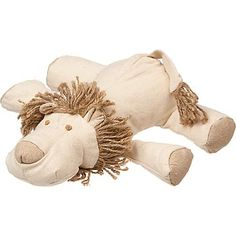 Planet Petco Plush Lion with Rope Dog Toy