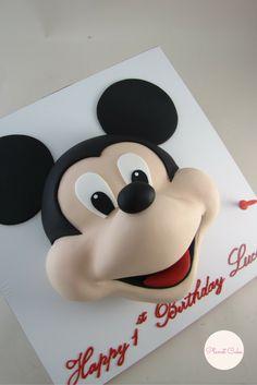Mickey Mouse Cake|Disney Cake