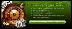 check out the benefits which you will get while playing online casino & after loosing or wining  the match at http://videoslot.ca/
