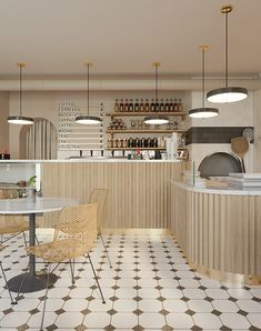 Design Commercial, Commercial Interiors, Architecture Restaurant, Interior Architecture, Restaurant Interior Design, Interior Design Studio, Bar Restaurant Design, Design Café, Counter Design