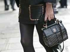 Paris Fashion Week Street Style F/W 2012, Day 2
